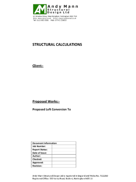Example Structural Design Work   AMSD - Structural Engineers